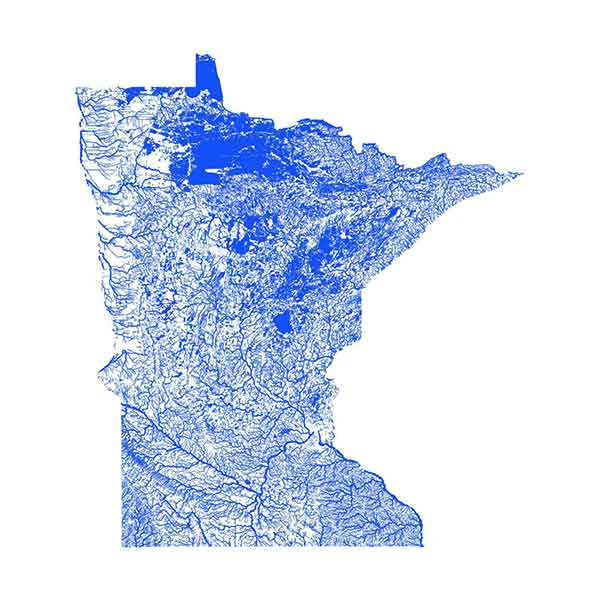 Minnesota Flooding maps