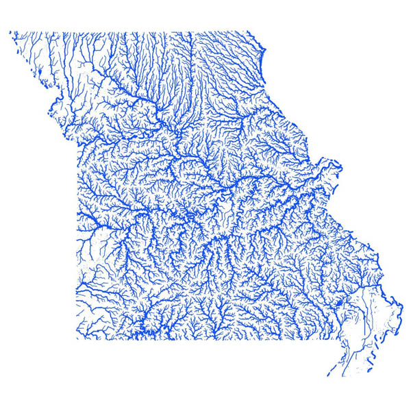 Flood map Missouri