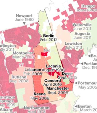 New Hampshire flood maps