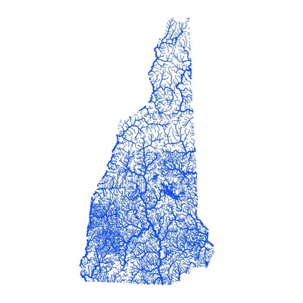 New Hampshire Flooding Map