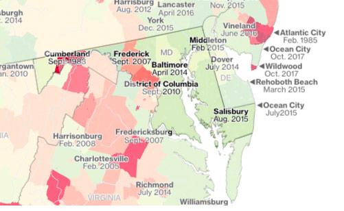 Maryland Flood zone Map