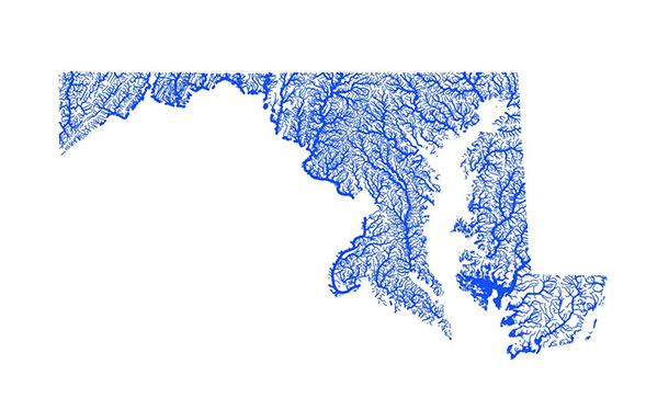 Maryland Flooding Map