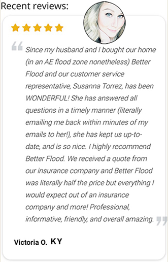 Client very positive review of Flood Nerds