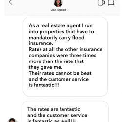 Realtor flood insurance approved