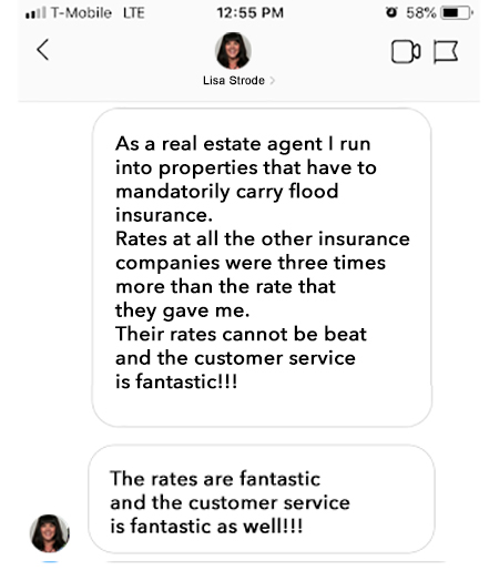 Realtor flood insurance approved