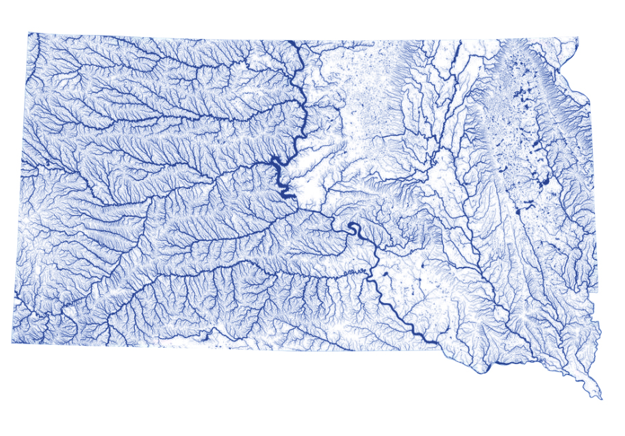 SD Flooding map