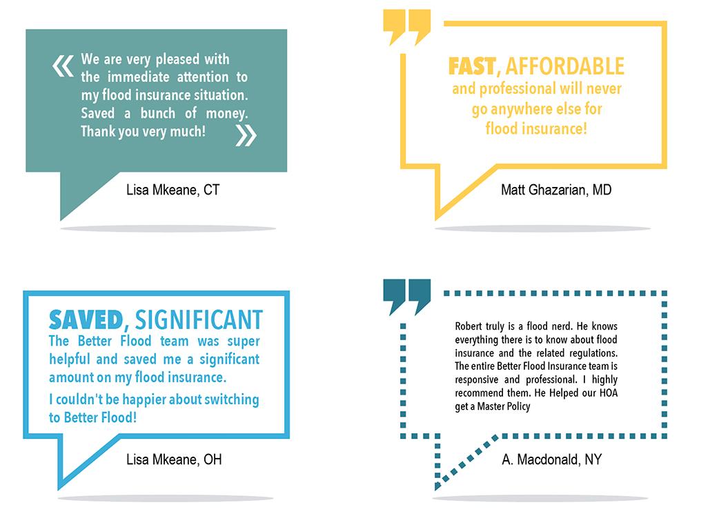 Better Flood Insurance - Clients love us
