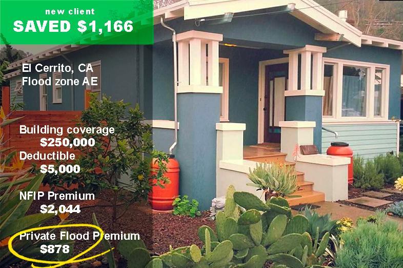 CA flood insurance