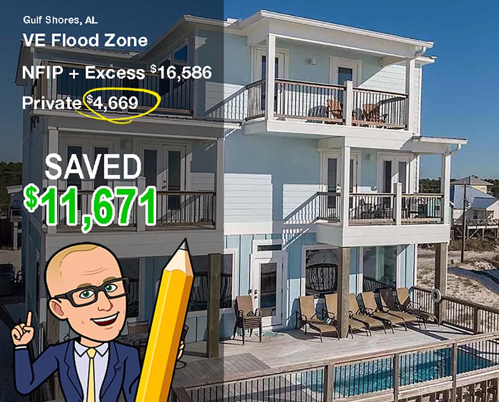 Alabama Flood zone VE