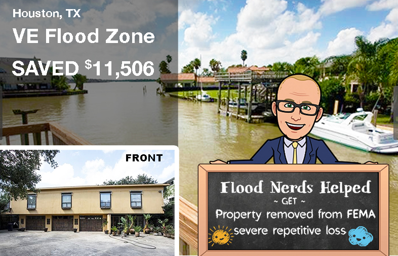 TX flood zone VE