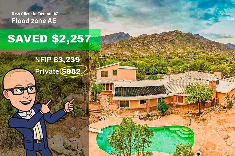 arizona home for sale needs flood insurance Saves with flood nerds