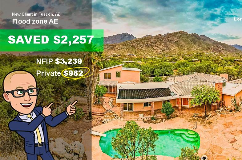 arizona home for sale needs flood insurance Saves with flood nerds