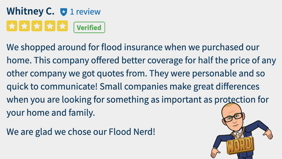 Better Flood Review - 5 star
