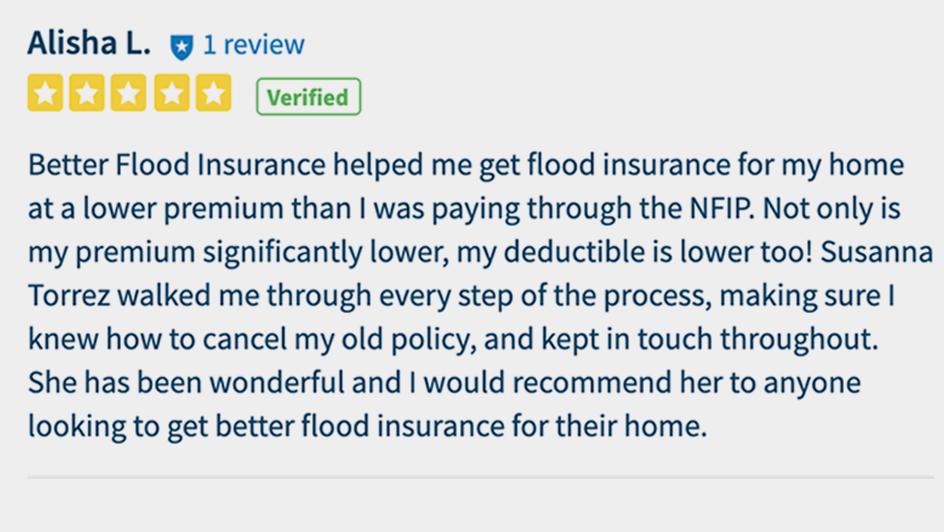 Better flood insurance 5Star