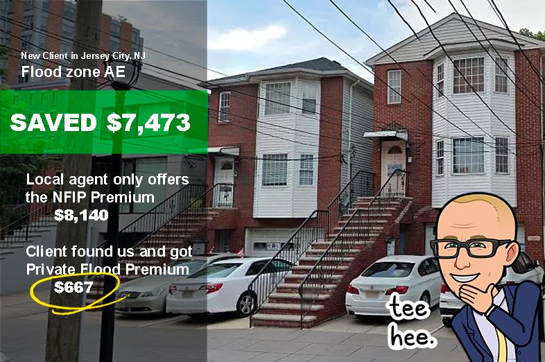 New Jersey flood insurance save money