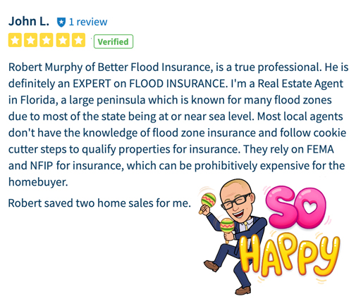 Flood nerd Review from Home seller