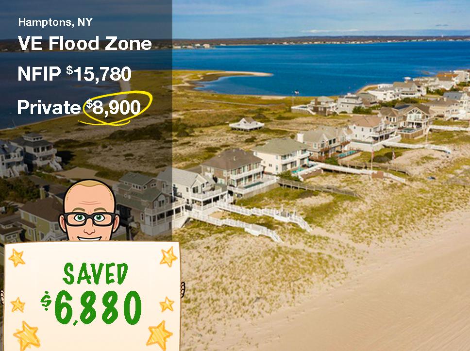 NY Flood Insurance for a beach home