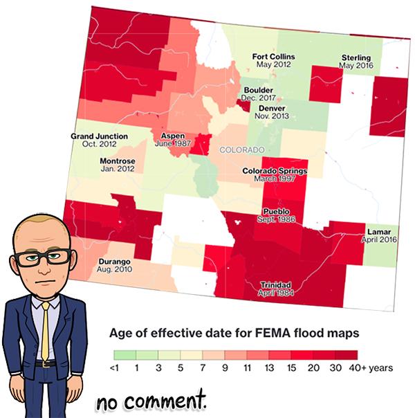Colorado Flood Insurance rate maps