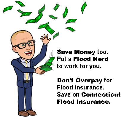 Save Flood Insurance with the Flood nerds in Connecticut