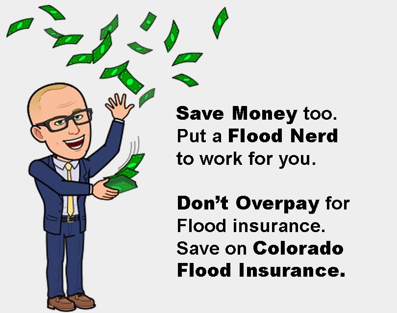 Flood Nerd saves money for Colorado on flood insurance