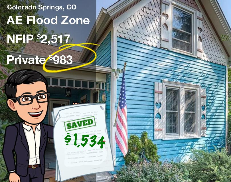 Colorado Springs Flood Insurance savings