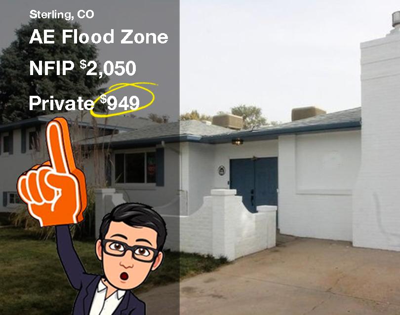 Flood insurance in Sterling CO