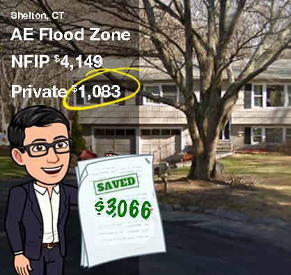 Flood Insurance savings in Shelton CT