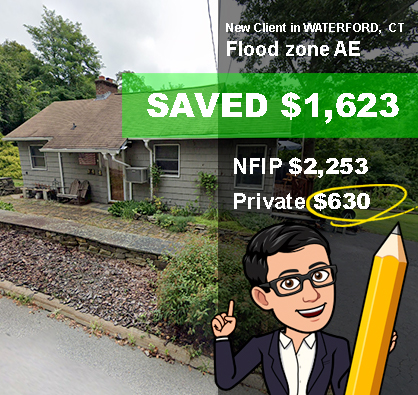 Flood Insurance Waterford CT