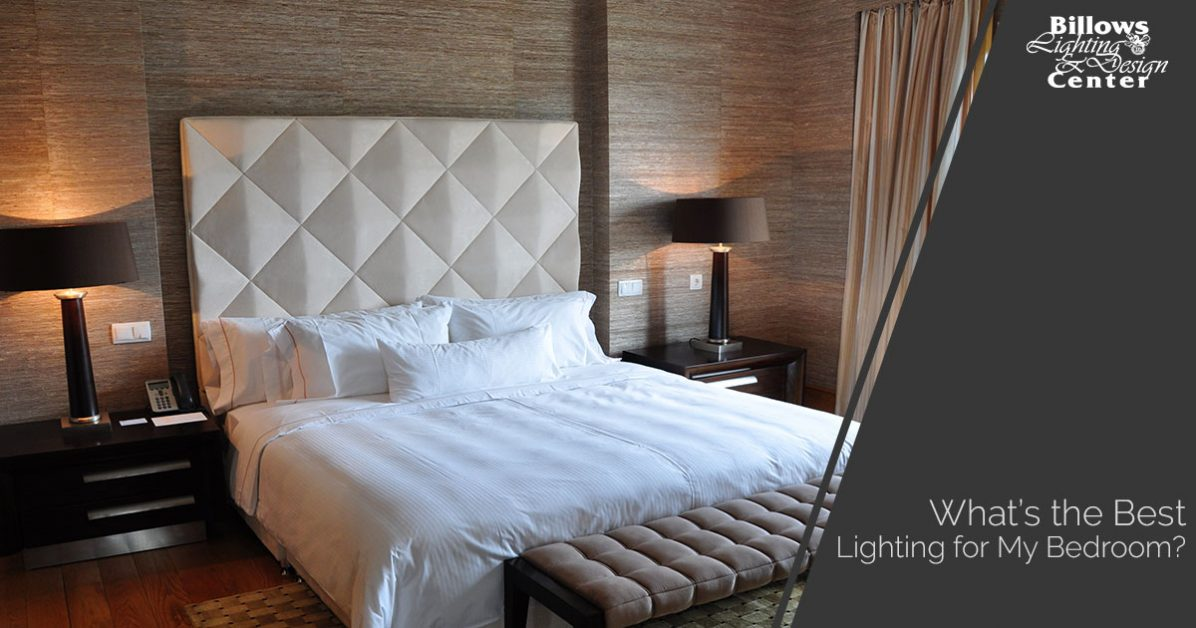 While your bedroom may not be where you plan on spending the majority of your time it is still important to consider the different lighting options and the