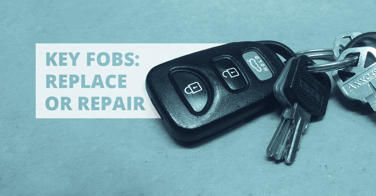 Key Fobs Well Repair Or Replace Yours Well Even Reprogram It