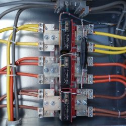 Commercial electrical wiring and electrical services
