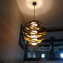 Light fixture installation in Aurora
