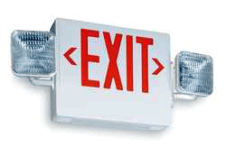 Exit light installation and commercial electricians