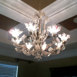 Chandelier wiring and other residential electrical services