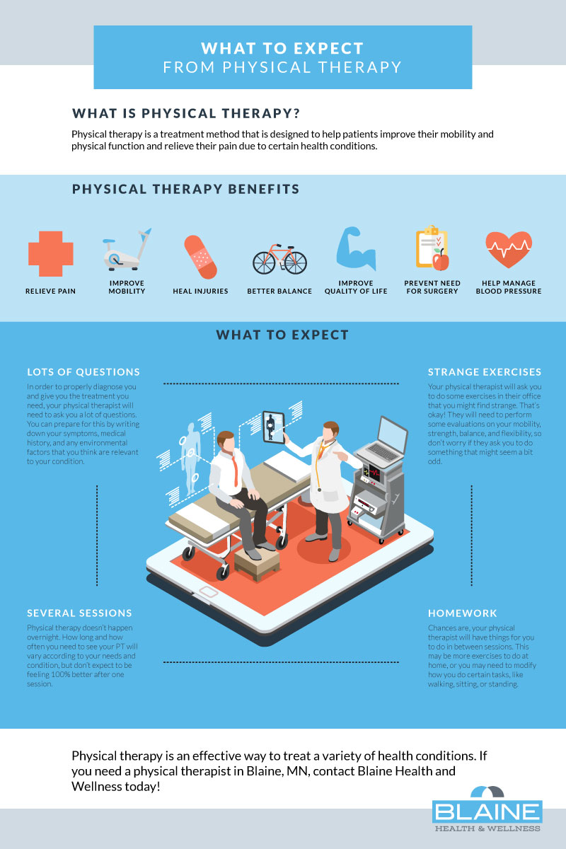 Physical Therapy Infographic