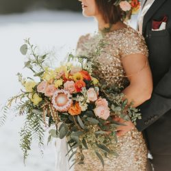 A Flower Bouquet By A Fort Collins Wedding Florist