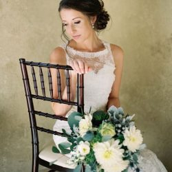 A Stunning Colorado Bride & Here Bliss Bouquet