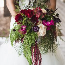 A Stunning Bridal Bouquet