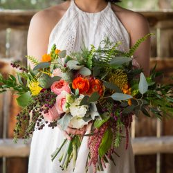 Colorful Fort Collins Bridal Bouquet