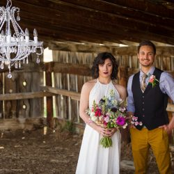 A Rustic Chic Colorado Wedding