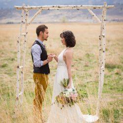 Aspen Arch Wedding