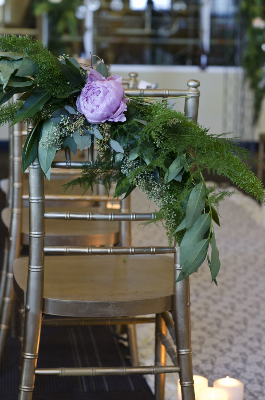 Chair Back Design Wedding Florist Fort Collins