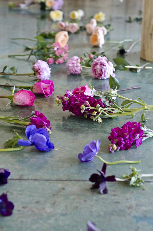 Flower Down a Wedding Isle