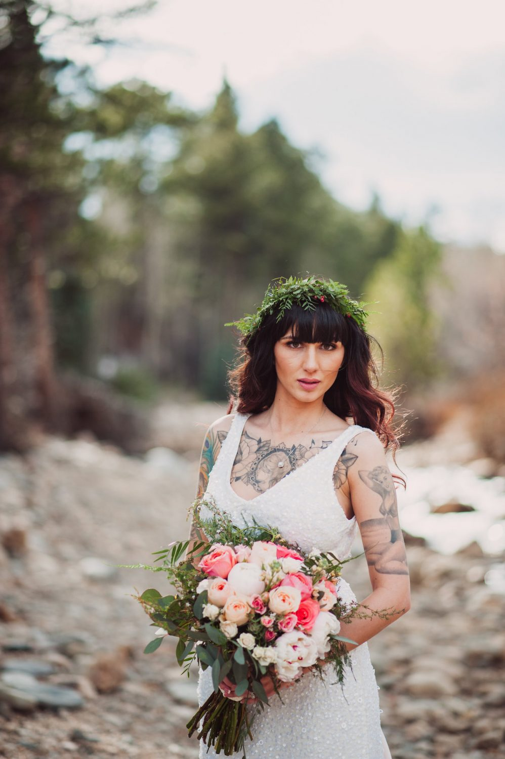 A Stunning Colorado Bride