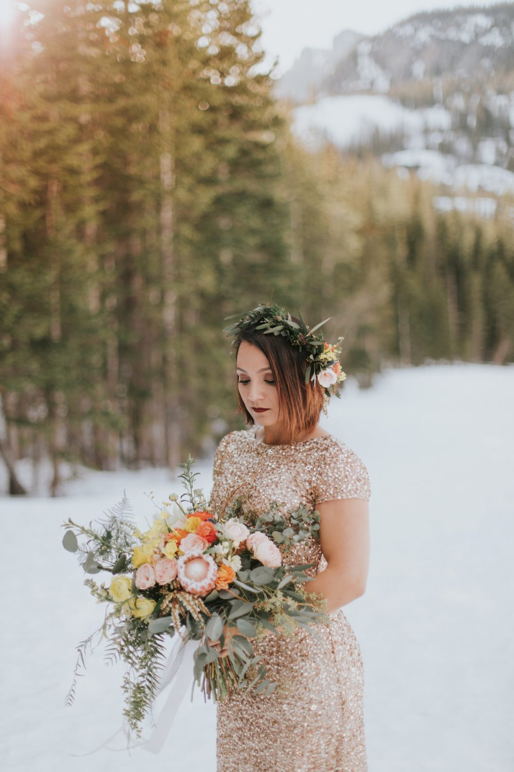 Wedding Florist Bride Photo