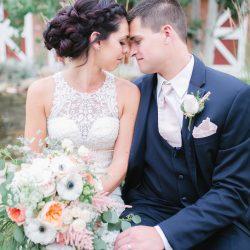 The Happy Bridal Couple