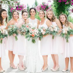 The Ladies & Their Bliss Wedding Bouquets