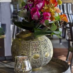 A Stunning Wedding Flower Arrangement By Bliss
