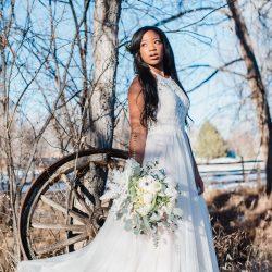 Outdoor Colorado Wedding Flowers