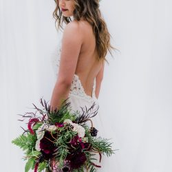 Stunning Fort Collins Bridal Bouquet and Bride
